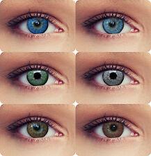 Designlenses© 2 kleur contactlenzen gekleurde contactlenzen Ontwerp: Natural