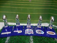 Dallas Cowboys Mini Lombardi Trophy Set Mcfarlane/Pocket Pro