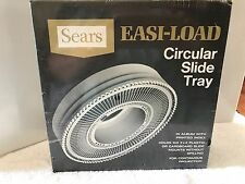 NEW Sears Easi-Load Circular Tray Holds 100 2x2 Plastic Cardboard Slides 39985