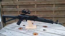 Airsoft AK74 G74B WELL / WE GBBR custom magpul + accessoire en TBE