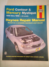 HAYNES Ford Contour & Mercury Mystique 1995-1998  Repair Manual #36006 *LOOK*