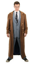 BBC Doctor Who Tenth Doctor Long Brown Coat