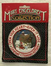 Mary Engelbreit Open Your Heart Christmas Ornament - Kurt S. Adler