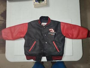 Nascar Dale Earnhardt The Intimidator Kids Poly Jacket Size 2 Chase Authentic
