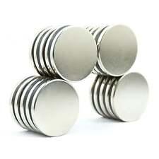 N45 30mm dia x 3mm large thin Neodymium disk magnets science DIY MRO diff PKS