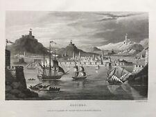 1830 Antique Print; Algiers, Algeria -  Thomas Kelly