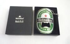 "Malaysia HEINEKEN BEER Metal BOTTLE OPENER 3.75"" Tall 2009 BELT BUCKLE Design"