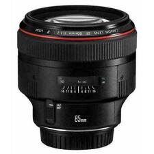New Canon EF 85mm f/1.2L II USM Lens