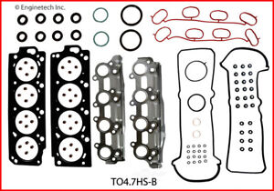 Engine Cylinder Head Gasket Set ENGINETECH, INC. TO4.7HS-BWB