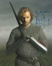 Hand Signed 8x10 photo RUPERT YOUNG in MERLIN as SIR LEON