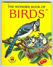 Vintage 1961 WONDER BOOK of BIRDS by Cynthia & Alvin Koehler! #757