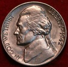 Uncirculated 1942-D Denver  Mint Jefferson Nickel