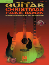 The ULTIMATE GUITAR CHRISTMAS Fake Book Ever-MELODY/LYRICS/CHORDS MUSIC BOOK-NEW