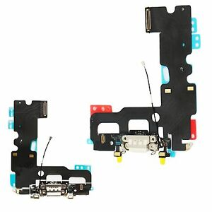 For iPhone 7 Charging Port Dock Connector Flex Antenna Microphone Replacement