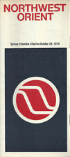 Northwest Orient Airlines system timetable 10/28/79 [0031]