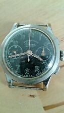 Vintage chronograph Bovet military