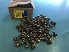 Lot of 94 Bronze Alloy Erico ESB6 Split Bold Connector 6 SOL - 8 SOL