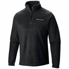 Columbia Men's Steens Mountain Half Zip Fleece Jacket Black Size L AM1528