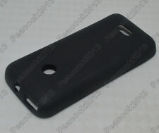 Black Matting TPU Silicone Case Cover for Nokia 208