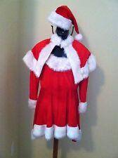 Santa Helper Costume Medium Christmas Holiday Fancy Short Dress