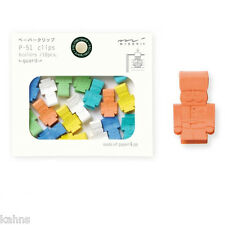 Soldier  Midori P-51 Paper Clips - Cute Kawaii Japanese -Made for Japanese Mkt