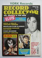 RECORD COLLECTOR MAGAZINE - Issue 252 - August 2000 - Elvis / Kiss / Clash