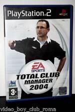 TOTAL CLUB MANAGER 2004 GIOCO USATO STATO ACCETTABILE SONY PS2 EDIZIONE IT 23337
