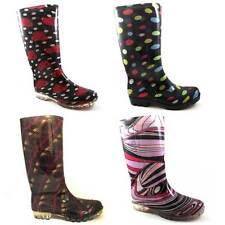 LADIES FUNKY FESTIVAL WELLIES RAIN BOOTS SIZES UK 3 - 8 WELLINGTON SNOW WOMENS