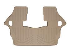WeatherTech Custom Designed FloorLiner - Part # 450193 - 3rd Row - Tan