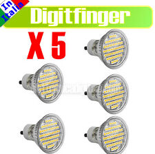 5 Lampada LAMPADINA faretto 60 LED Luce calda 4W equivalente 30W attacco GU10