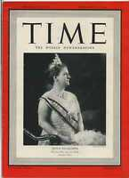 Time Magazine Nov 27 1939 Queen Wilhelmina