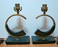 Majestic Mid Century Modern Table Lamps (Pair) Very Rare FREE SHIPPING