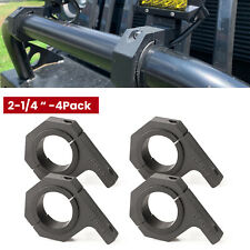 """2-1/4"""" Bull Bar Bumper Mounting Bracket Roll Cage Tube Clamp Light Bar Holder"""