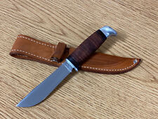 Beautiful Case XX 366 UNUSED Fixed Blade Vintage Hunting Knife w/ Sheath