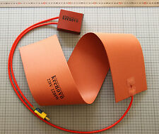 "6""X36"" 1200W 220V Guitar Side Bending Silicone Heat Blanket w/Digital Controller"