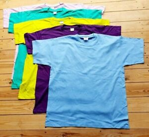 5 XXL tee shirts 2XL B&C MENS tshirt T-shirts BUNDLE T-shirt pack plain job lotW