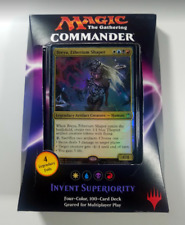 Commander 2016 Deck - Invent Superiority (WUBR). Magic the Gathering