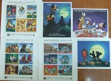 MALDIVES,Walt Dysney -Cartoons-3 M/Sh+3 S/Sh.,MNH**.WS 062