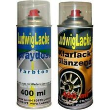 Spraydosen Ravennablau LA5W Autolack Klarlack je400ml für VW Frei Haus