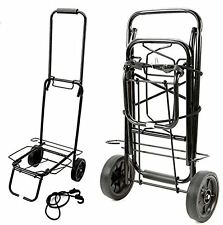50KG FOLDING LUGGAGE CARRIER CART SHOPPING TRAVEL CAMPING FESTIVAL LUGGAGE CART