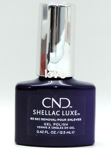 CND Gel SHELLAC LUXE Color 0.42fl.oz-12.5ml NEW FORMULA 305Luxe- Temptation