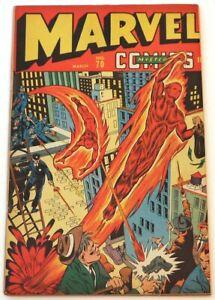 MARVEL MYSTERY COMICS #70 (GOOD NEWS, BAD NEWS, PLEASE READ DESCR., TIMELY 1946)
