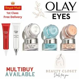 Olay Eye Cream Gel Serum Anti Ageing Cream Moisturiser 15ml Brand New UK Seller