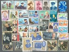 Churchill 50 all different-includes GB Mint set-Military World War I & II