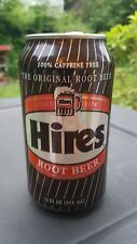 HIRES ROOT BEER CAN USED 12 oz. EMPTY