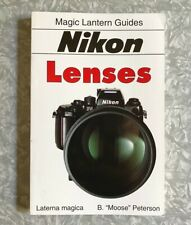 Nikon Lenses Magic Lantern Guide 1994 First Edition Softcover Camera Book Vg