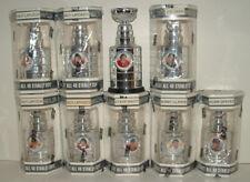 9 2002-03 BAP Memorabilia Mini Stanley Cups Lafleur x2, Lapointe x2, Robinson...