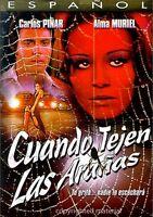 Cuando Tejen Las Aranas (DVD, 2004, Carlos Pinar, Alma Muriel, Brand New)