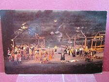 Postcard OH New Philadelphia play Trumpet in the Land Villiage of Schoenbrunn