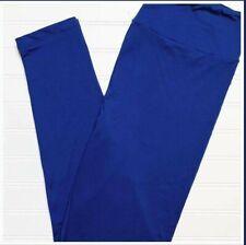 L/XL Lularoe Kids Leggings Solid Cobalt Blue NWT 352698